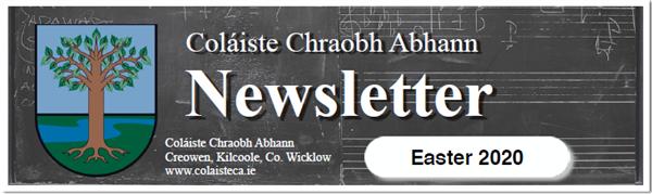 Easter Newsletter 2020