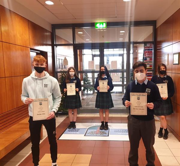Student of the Month Awards TY